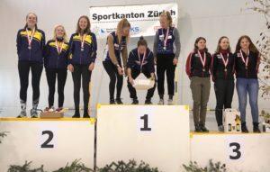 Silbermedaille für Lara Giannini, Ledna Oettli und Sara van Oordt bei den D18